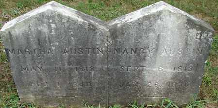 AUSTIN, MARTHA - Hampden County, Massachusetts | MARTHA AUSTIN - Massachusetts Gravestone Photos