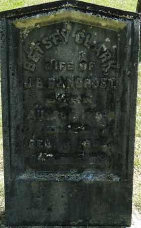 CLARK, BETSEY - Hampden County, Massachusetts | BETSEY CLARK - Massachusetts Gravestone Photos