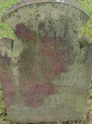 BATES, LEANDER - Hampden County, Massachusetts | LEANDER BATES - Massachusetts Gravestone Photos