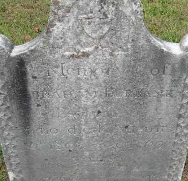 BURBANK, ABRAHAM - Hampden County, Massachusetts | ABRAHAM BURBANK - Massachusetts Gravestone Photos