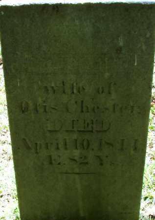 CHESTER, CHARLOTT - Hampden County, Massachusetts   CHARLOTT CHESTER - Massachusetts Gravestone Photos