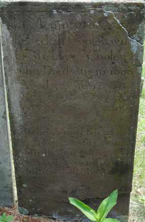 COOLEY, REBECKAH - Hampden County, Massachusetts   REBECKAH COOLEY - Massachusetts Gravestone Photos
