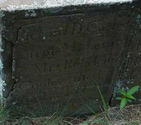 COOLEY, RICHARD D - Hampden County, Massachusetts | RICHARD D COOLEY - Massachusetts Gravestone Photos