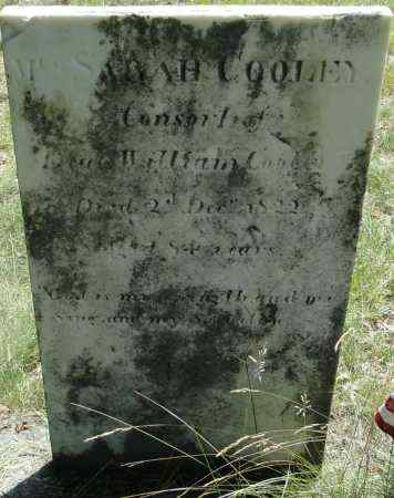 COOLEY, SARAH - Hampden County, Massachusetts | SARAH COOLEY - Massachusetts Gravestone Photos