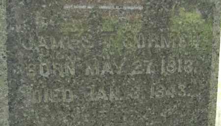 CORNISH, JAMES T - Hampden County, Massachusetts | JAMES T CORNISH - Massachusetts Gravestone Photos
