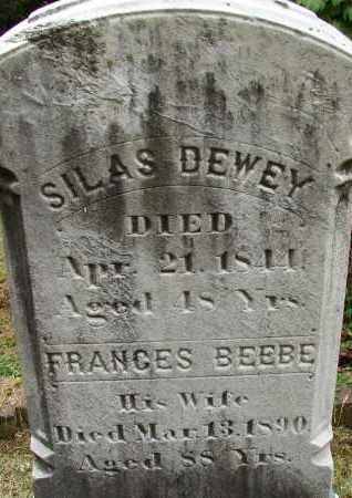BEEBE DEWEY, FRANCES - Hampden County, Massachusetts | FRANCES BEEBE DEWEY - Massachusetts Gravestone Photos