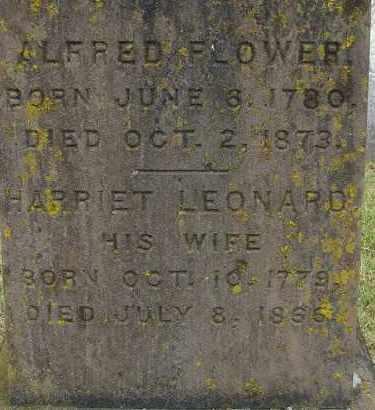 LEONARD FLOWER, HARRIET - Hampden County, Massachusetts | HARRIET LEONARD FLOWER - Massachusetts Gravestone Photos