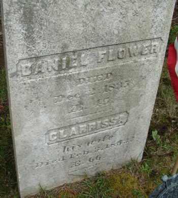 FLOWER, CLARRISSA - Hampden County, Massachusetts | CLARRISSA FLOWER - Massachusetts Gravestone Photos