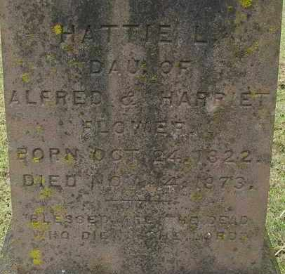 FLOWER, HATTIE L - Hampden County, Massachusetts | HATTIE L FLOWER - Massachusetts Gravestone Photos