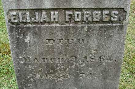 FORBES, ELIJAH - Hampden County, Massachusetts | ELIJAH FORBES - Massachusetts Gravestone Photos
