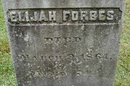 FORBES, ELIJAH - Hampden County, Massachusetts | ELIJAH FORBES - Massachusetts Gravestone Photos