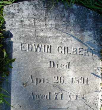 GILBERT, EDWIN - Hampden County, Massachusetts | EDWIN GILBERT - Massachusetts Gravestone Photos