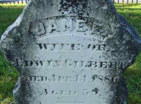 GILBERT, JANE - Hampden County, Massachusetts | JANE GILBERT - Massachusetts Gravestone Photos