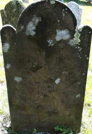 GILLET, ELIZABETH - Hampden County, Massachusetts   ELIZABETH GILLET - Massachusetts Gravestone Photos
