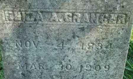 GRANGER, ELIZA A - Hampden County, Massachusetts   ELIZA A GRANGER - Massachusetts Gravestone Photos