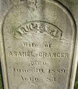 GRANGER, LUCIA A - Hampden County, Massachusetts | LUCIA A GRANGER - Massachusetts Gravestone Photos