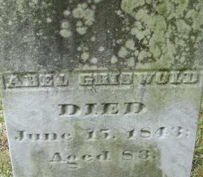 GRISWOLD, ABEL - Hampden County, Massachusetts | ABEL GRISWOLD - Massachusetts Gravestone Photos
