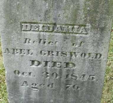 GRISWOLD, DEIDAMIA - Hampden County, Massachusetts | DEIDAMIA GRISWOLD - Massachusetts Gravestone Photos