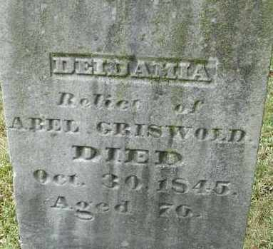 GRISWOLD, DEIDAMIA - Hampden County, Massachusetts | DEIDAMIA GRISWOLD - Massachusetts Gravestone Photos