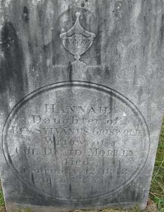 GRISWOLD MORLEY, HANNAH - Hampden County, Massachusetts   HANNAH GRISWOLD MORLEY - Massachusetts Gravestone Photos