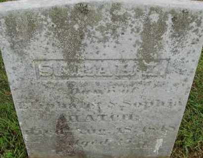 HATCH, SARAH - Hampden County, Massachusetts   SARAH HATCH - Massachusetts Gravestone Photos