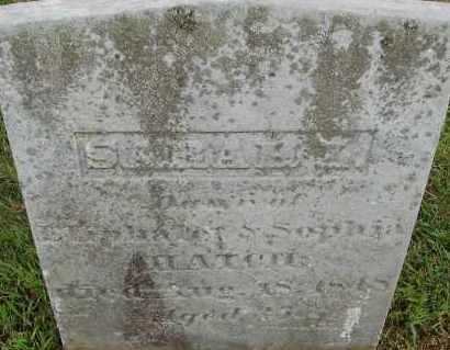 HATCH, SARAH - Hampden County, Massachusetts | SARAH HATCH - Massachusetts Gravestone Photos