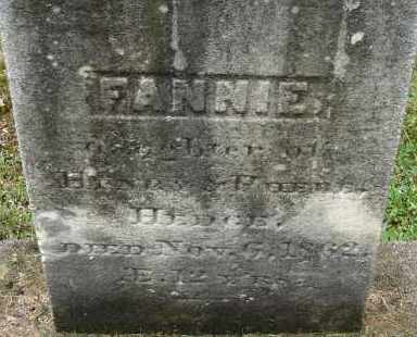 HEDGE, FANNIE - Hampden County, Massachusetts | FANNIE HEDGE - Massachusetts Gravestone Photos