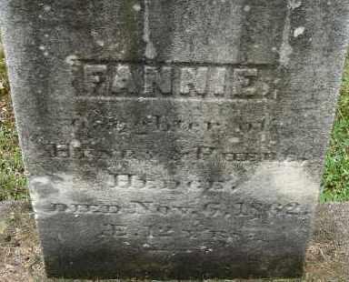 HEDGE, FANNIE - Hampden County, Massachusetts | FANNIE HEDGE - Massachusetts Gravestone Photos