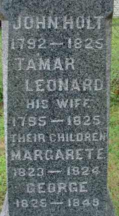 HOLT, JOHN - Hampden County, Massachusetts | JOHN HOLT - Massachusetts Gravestone Photos