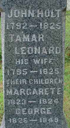 HOLT, TAMAR - Hampden County, Massachusetts | TAMAR HOLT - Massachusetts Gravestone Photos