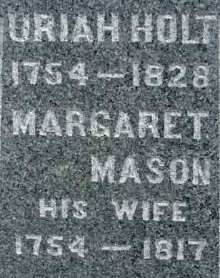 MASON HOLT, MARGARET - Hampden County, Massachusetts | MARGARET MASON HOLT - Massachusetts Gravestone Photos