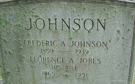 JOBES JOHNSON, FLORENCE A - Hampden County, Massachusetts | FLORENCE A JOBES JOHNSON - Massachusetts Gravestone Photos