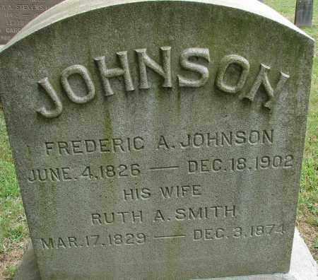 SMITH JOHNSON, RUTH A - Hampden County, Massachusetts | RUTH A SMITH JOHNSON - Massachusetts Gravestone Photos