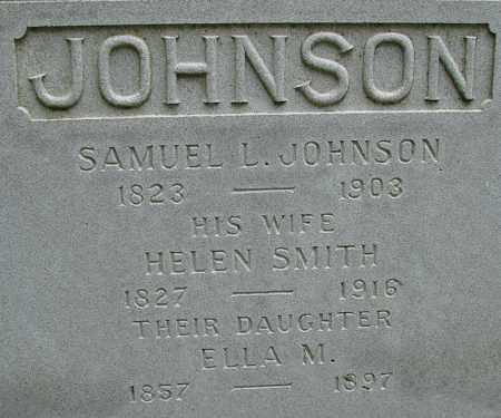 JOHNSON, SAMUEL L - Hampden County, Massachusetts | SAMUEL L JOHNSON - Massachusetts Gravestone Photos