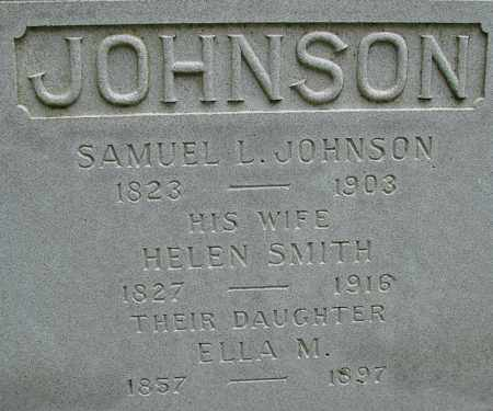 JOHNSON, ELLA M - Hampden County, Massachusetts | ELLA M JOHNSON - Massachusetts Gravestone Photos