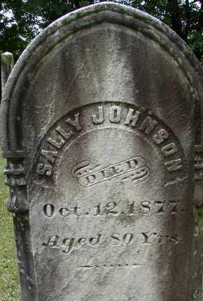 JOHNSON, SALLY - Hampden County, Massachusetts | SALLY JOHNSON - Massachusetts Gravestone Photos