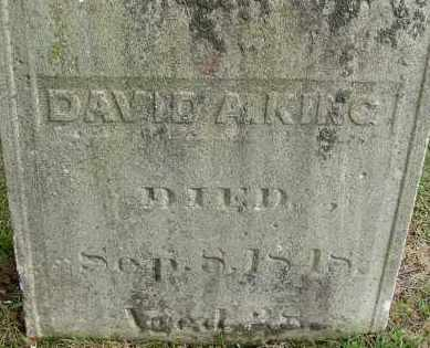 KING, DAVID A - Hampden County, Massachusetts | DAVID A KING - Massachusetts Gravestone Photos