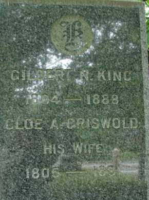 GRISWOLD KING, CLOE A - Hampden County, Massachusetts | CLOE A GRISWOLD KING - Massachusetts Gravestone Photos