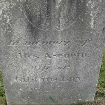 LAY, ASENETH - Hampden County, Massachusetts | ASENETH LAY - Massachusetts Gravestone Photos