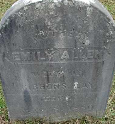 ALLEN LAY, EMILY - Hampden County, Massachusetts | EMILY ALLEN LAY - Massachusetts Gravestone Photos