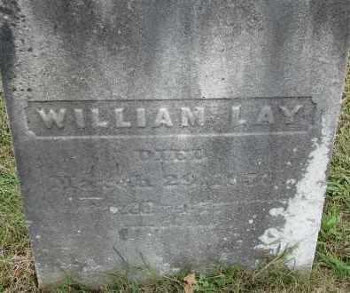 LAY, WILLIAM - Hampden County, Massachusetts   WILLIAM LAY - Massachusetts Gravestone Photos