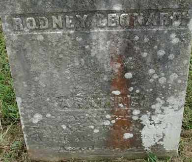 LEONARD, ARATINE - Hampden County, Massachusetts | ARATINE LEONARD - Massachusetts Gravestone Photos