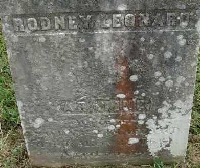 LEONARD, ARATINE - Hampden County, Massachusetts | ARATINE LEONARD - Massachusetts Gravestone Photos