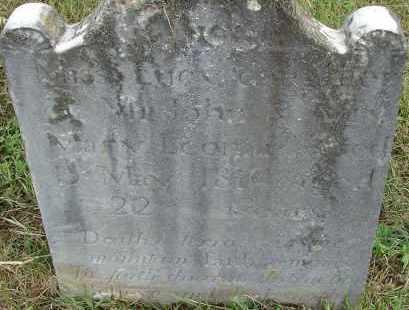 LEONARD, LUCY - Hampden County, Massachusetts   LUCY LEONARD - Massachusetts Gravestone Photos