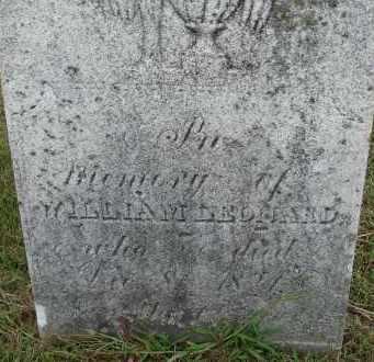 LEONARD, WILLIAM - Hampden County, Massachusetts | WILLIAM LEONARD - Massachusetts Gravestone Photos