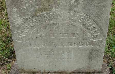 LISWELL, NANCY ANN - Hampden County, Massachusetts | NANCY ANN LISWELL - Massachusetts Gravestone Photos