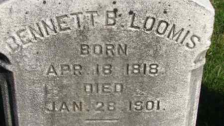 LOOMIS, BENNETT B - Hampden County, Massachusetts | BENNETT B LOOMIS - Massachusetts Gravestone Photos