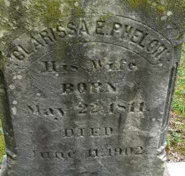 LOOMIS, CLARISSA E - Hampden County, Massachusetts | CLARISSA E LOOMIS - Massachusetts Gravestone Photos