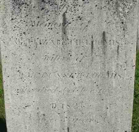 LOOMIS, ELIZABETH - Hampden County, Massachusetts | ELIZABETH LOOMIS - Massachusetts Gravestone Photos