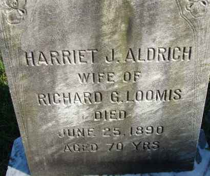 LOOMIS, HARRIET J - Hampden County, Massachusetts | HARRIET J LOOMIS - Massachusetts Gravestone Photos